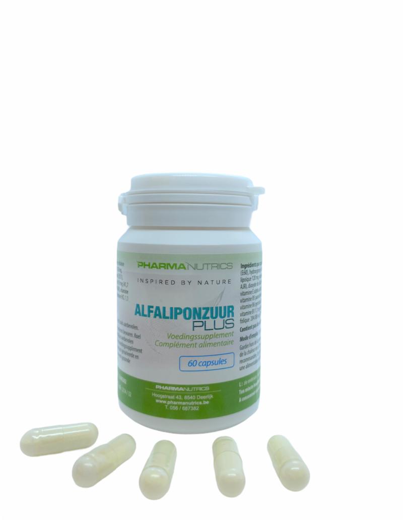 ALFALIPONZUUR 60 V-CAPS PHARMANUTRICS
