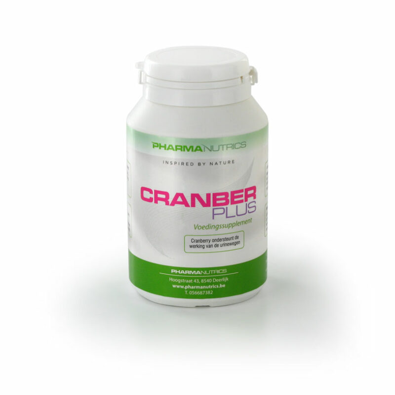 CRANBER PLUS 60 TABS PHARMANUTRICS