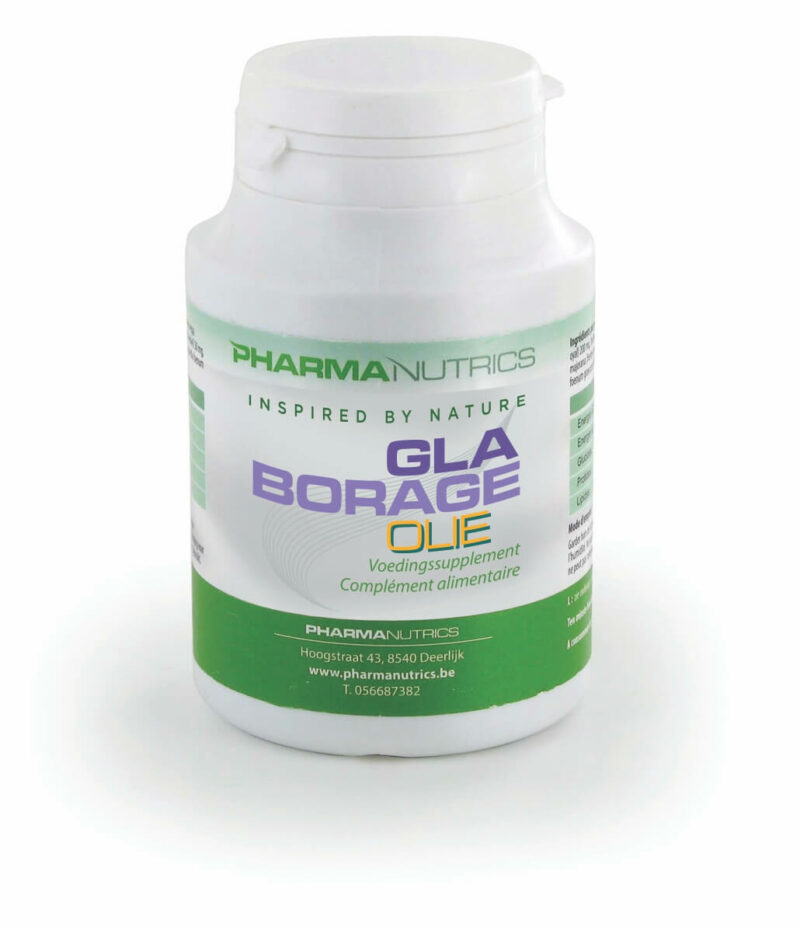 GLA BORAGE OLIE 90 CAPS PHARMANUTRICS