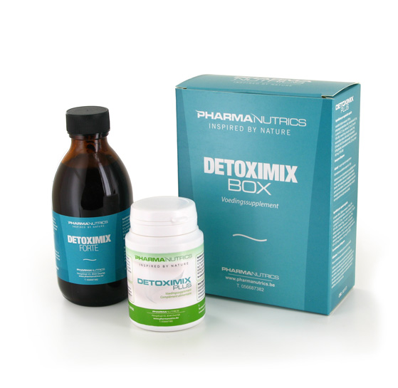 DETOXIMIX BOX 200 ML + 60 V-CAPS PHARMANUTRICS