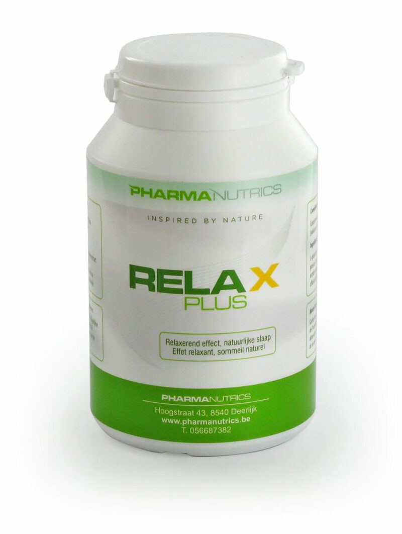 RELAX PLUS 120 V-CAPS PHARMANUTRICS